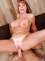 Anilos Darla Crane sucks a huge cock and gets fucked hard by her husband